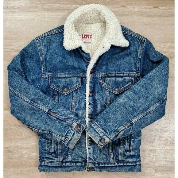 Levi's Mens Vintage  Blue Trucker Jean Jacket 34